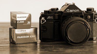 Canon A1 und Filme